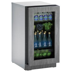 "U-LINE2218rgl 18"" Refrigerator With Integrated Frame Finish (115 V/60 Hz Volts /60 Hz Hz)"