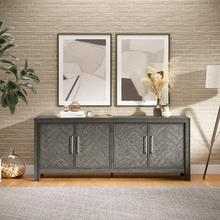 Gramercy 4 Door Accent Cabinet