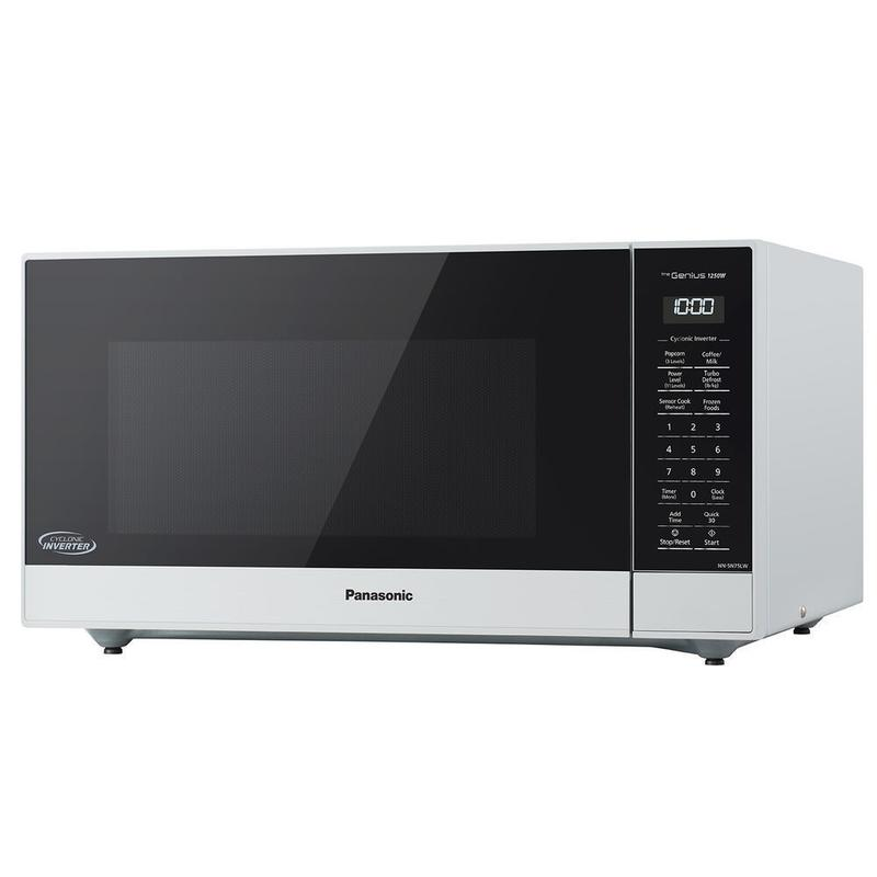 1 6 Cu Ft 1250w White Microwave Oven