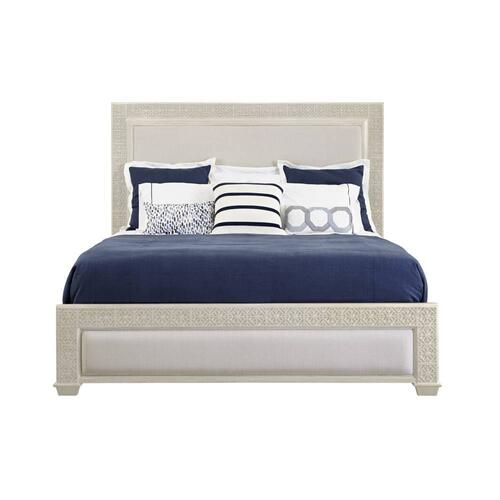 Latitude Panel Bed - Oyster / King