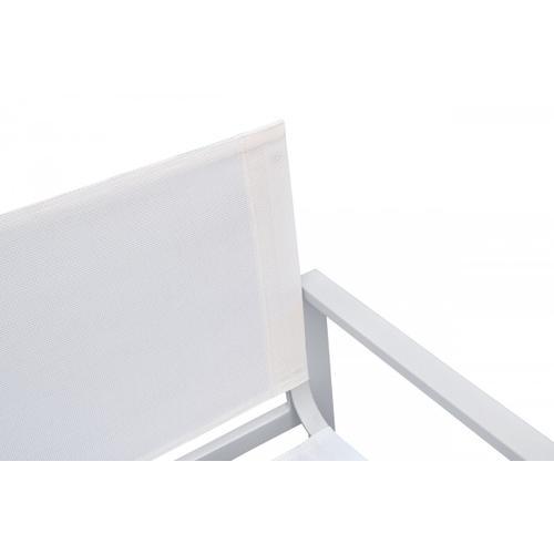 VIG Furniture - Renava Kayak - Modern White Outdoor Dining Armchair (Set of 2)