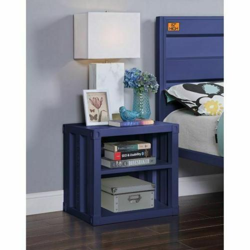 ACME Cargo Nightstand (USB) - 35937 - Blue