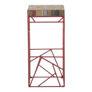 Rubic Barstool Red