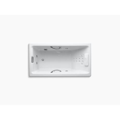 """Thunder Grey 66"""" X 36"""" Drop-in Whirlpool With Massage Package"""