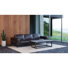 Accenti Italia Darwin - Italian Modern Dark Brown Leather Sofa