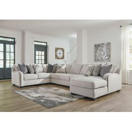 Dellara 3-piece Sectional With Chaise