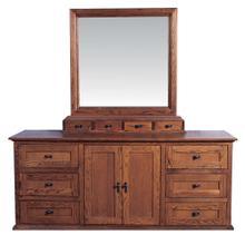 Forest Designs 72w Mission Dresser & Mirror
