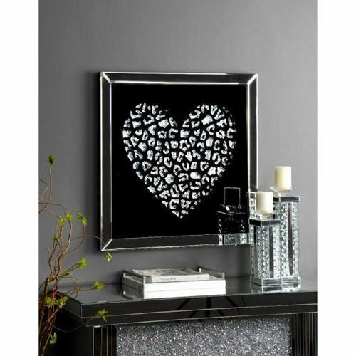 ACME Talisha Wall Art - 97625 - Mirrored