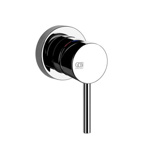 """Gessi - TRIM PARTS ONLY Wall mounted washbasin mixer control For spout 38780 and 38783 1/2"""" connections Drain not included - see DR AINS section Requires in-wall rough valve 26612 Max flow rate 1"""