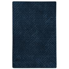 Arcade-Crown Navy Hand Loomed Area Rugs
