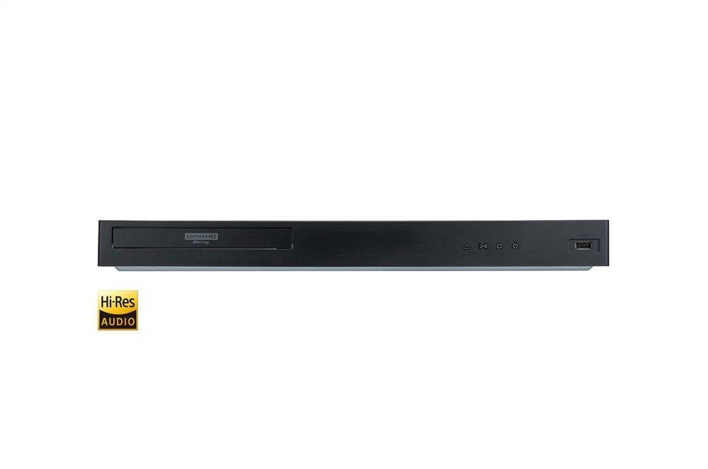 LG Appliances4k Ultra-Hd Blu-Ray Disc™ Player
