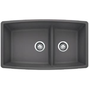 Performa 1-3/4 Medium Bowl - Cinder