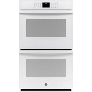 "GEGE(R) 30"" Smart Built-In Self-Clean Double Wall Oven with Never-Scrub Racks"