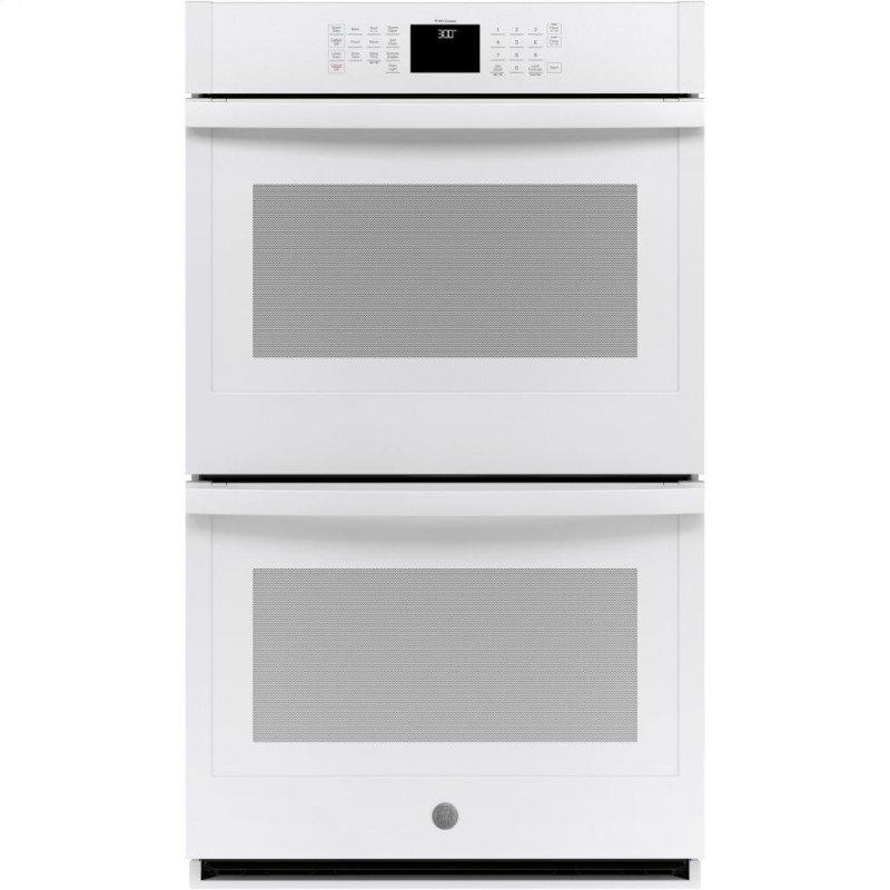 """30"""" Smart Built-In Self-Clean Double Wall Oven with Never-Scrub Racks"""