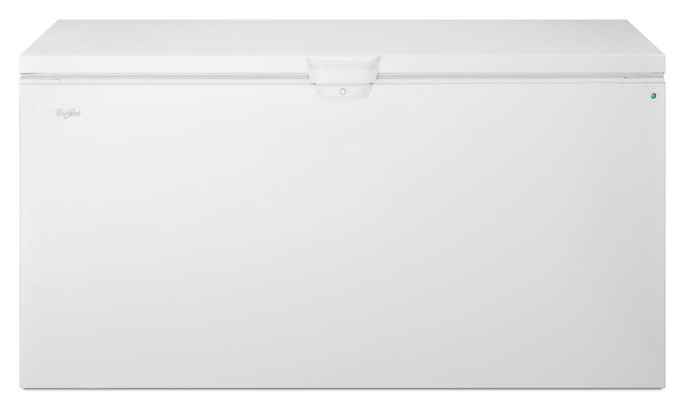 Whirlpool22 Cu. Ft. Chest Freezer With Extra-Large Capacity And Temperature Alarm