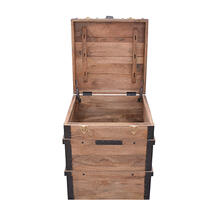Storage Trunk - Burn Natural Finish