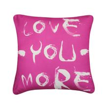Love You More Cushion - Pink