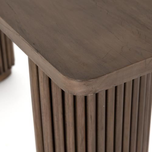 Rutherford Console Table-ashen Brown