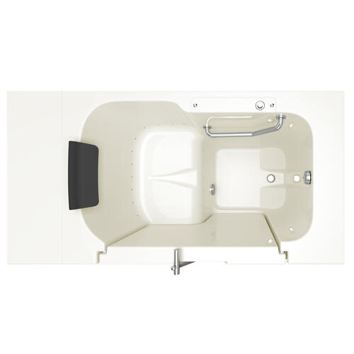 American Standard - Premium Series 32x52-inch Air Massage Walk-In Tub  Outswing Door  American Standard - Linen