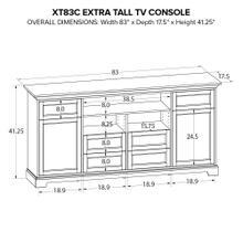 XT83C Extra Tall Custom TV Console
