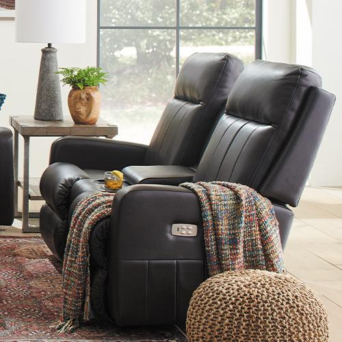 Finley Power Wall Reclining Loveseat