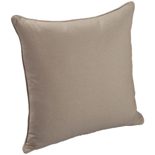 "Throw Pillows Knife Edge Square w/welt (24"" x 24"")"