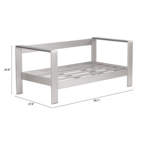 Cosmopolitan Sofa Frame B. Aluminum