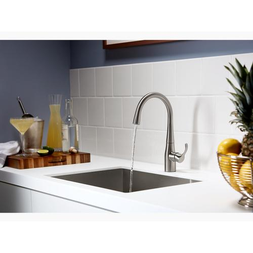 Polished Chrome Bar Sink Faucet