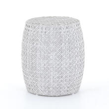 Dorris Outdoor End Table-brushed Grey