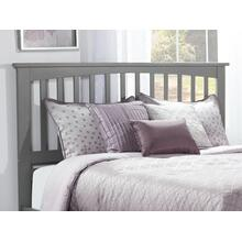 Mission Headboard Queen Atlantic Grey