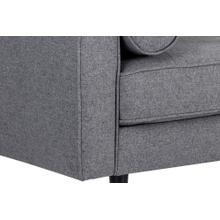 See Details - Donnie Sofa - fabric: dark grey