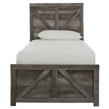 Wynnlow - Gray 2 Piece Bed (Twin)