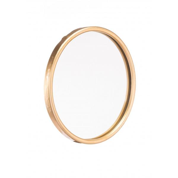 Small Ogee Mirror Gold