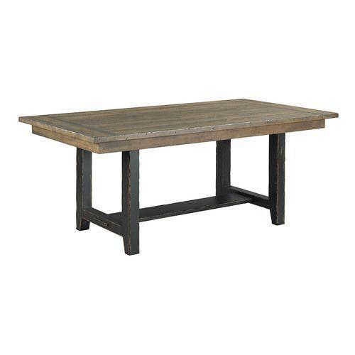 """Mill House 74"""" Webb Trestle Table"""