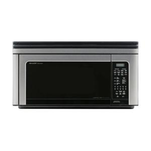 Sharp Appliances1.1 cu. ft. 850W Sharp Stainless Steel Convection Over-the-Range Microwave Oven