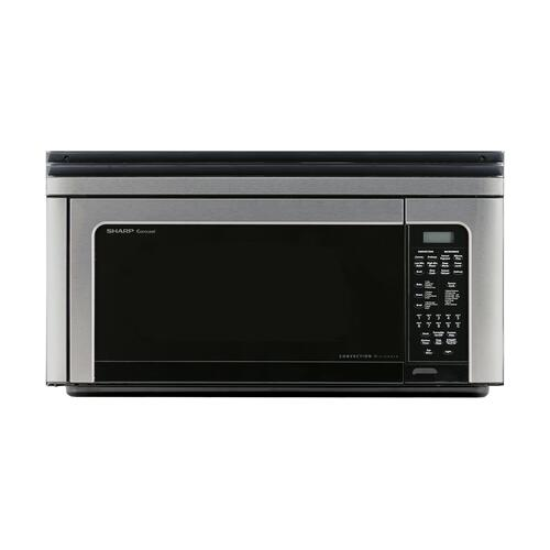 1.1 cu. ft. 850W Sharp Stainless Steel Convection Over-the-Range Microwave Oven