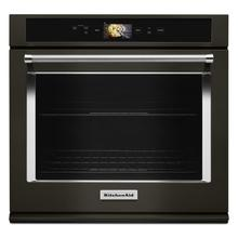 """See Details - Smart Oven+ 30"""" Single Oven with Powered Attachments and PrintShield™ Finish Black Stainless Steel with PrintShield™ Finish"""