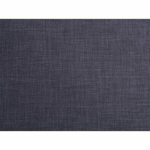 ACME Laurissa Sectional Sofa & Ottoman (2 Pillows) - 54360 - Dark Blue Linen