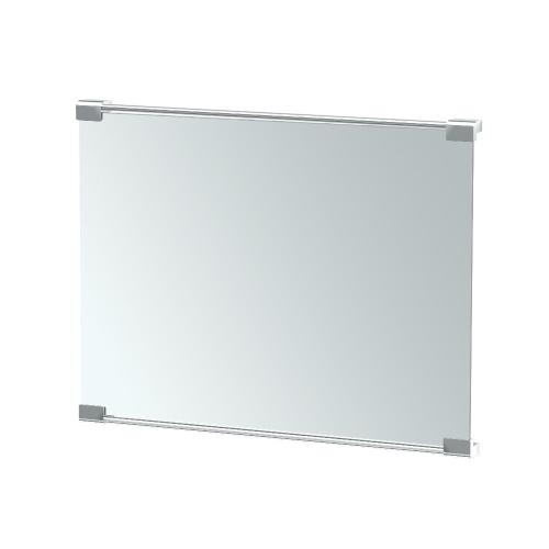 Decor Mirror in Matte Black