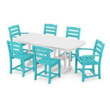 View Product - La Casa Cafu00e9 7-Piece Dining Set in Aruba