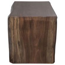 See Details - Heritage Guanacaste Waterfall Desk with Trapezoid Base