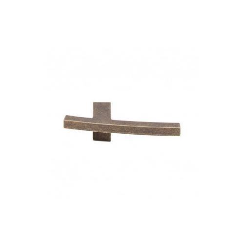 Slanted B Knob 3 Inch - German Bronze