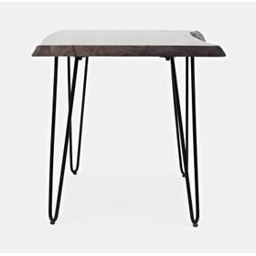 Nature's Edge End Table-brushed Grey