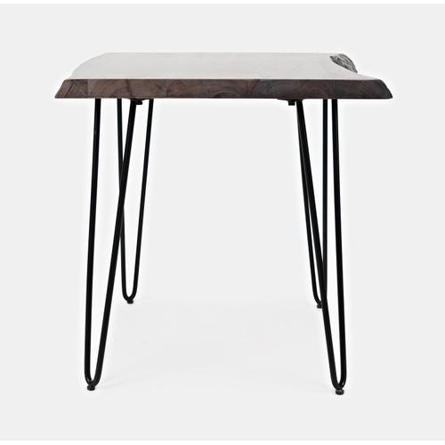 Jofran - Nature's Edge End Table-brushed Grey