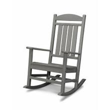 View Product - Presidential Rocking Chair in Slate Grey