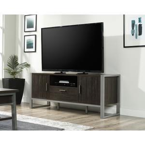 SauderContemporary Metal & Wood TV Credenza