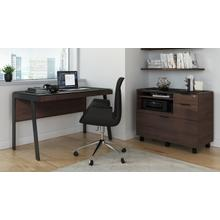 See Details - Sigma 6917 Multifunction Cabinet in Sepia