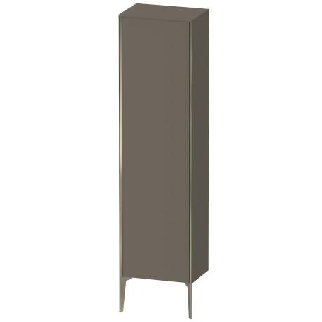 Duravit - Tall Cabinet Floorstanding, Flannel Gray Satin Matte (lacquer)