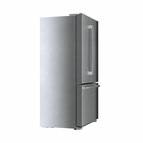 800 Series French Door Bottom Mount Refrigerator 36'' Easy clean stainless steel B21CT80SNS