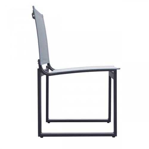 VIG Furniture - Renava Kayak - Modern Outdoor Dark Charcoal Dining Chair (Set of 2)